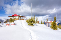Barrier Lookout and Jewel Pass, April 14, 2018