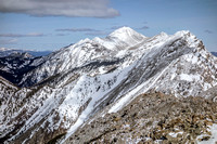 Livingstone Range South Peak, March 26, 2017